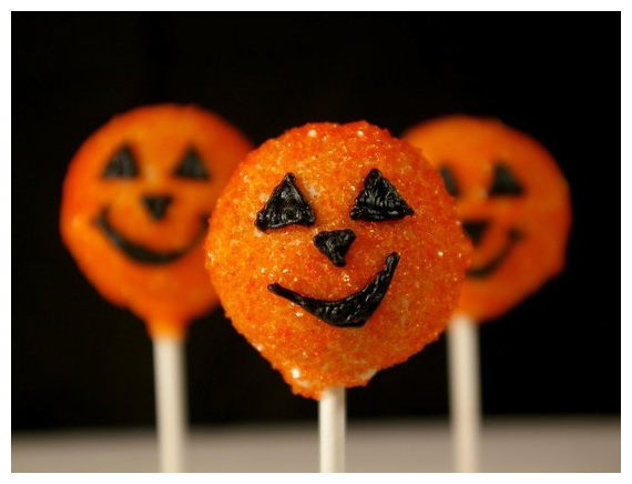 Black Velvet Jack-O-Lantern Cake Pops with Cream Cheese Frosting