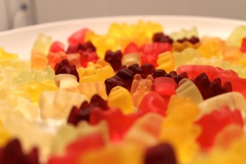 frozen gummi bears