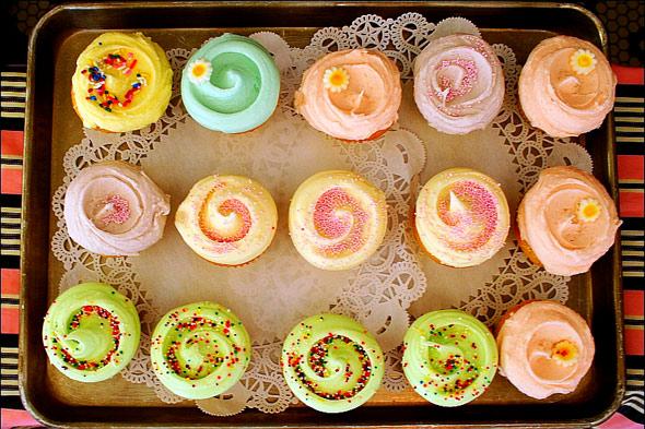 World famous Magnolia Cupcakes