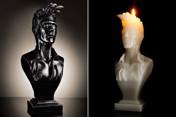 Morrissey Candle - rad!