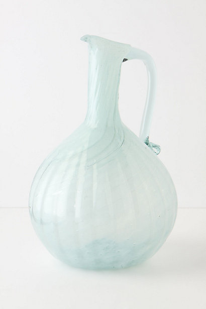 milk glass pitcher