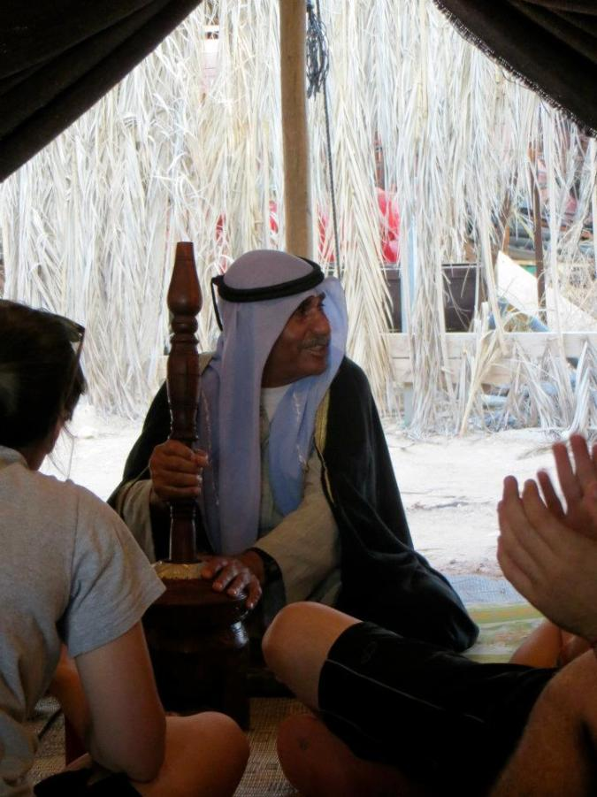 Our Bedouin Host for the evening