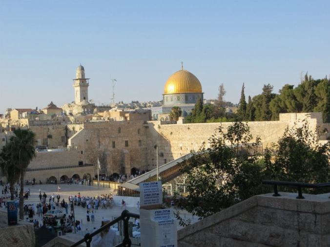 Shabbat at the Western Wall