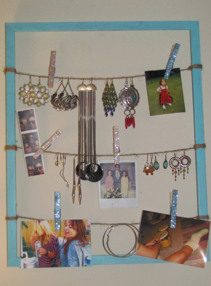 earring frame storage