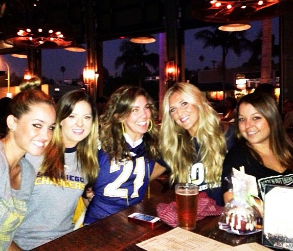 MNF with my sistas!
