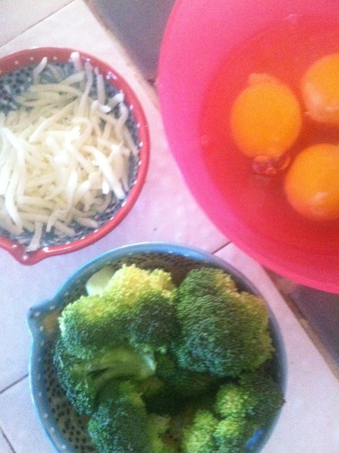 Omelette fixins