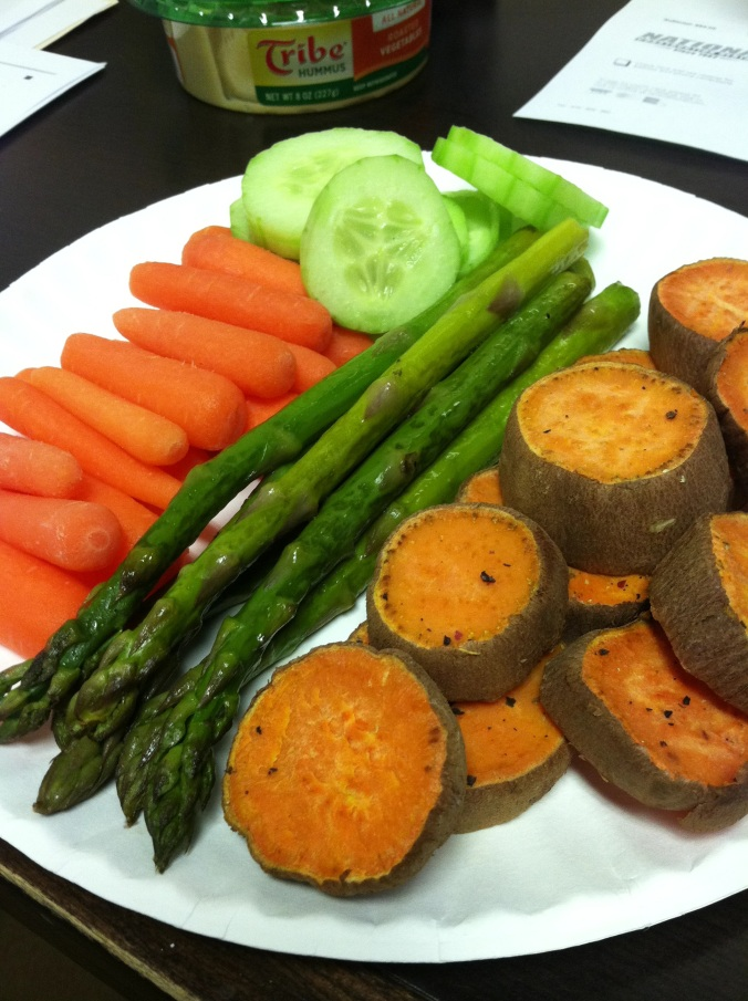 Lunch: variety of veggies! Perfect for curdite spreads, salads, or a healthy vegetarian wrap