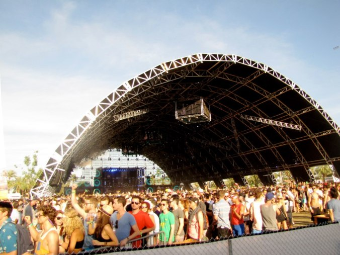 Sahara Tent by day