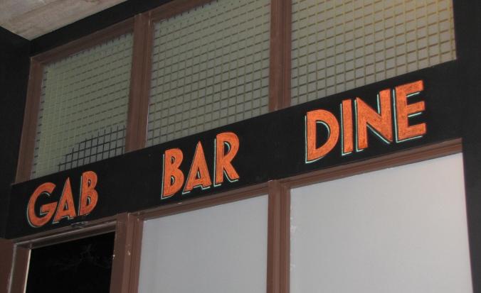 GAB ~ BAR ~ DINE