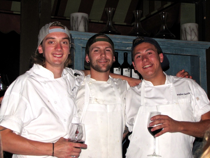 The Winning Kitchen Staff
