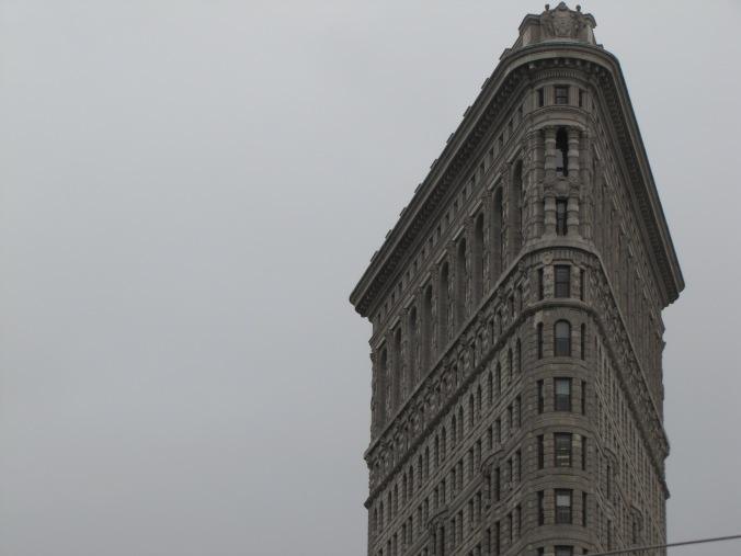 The iconic Flatiron Building