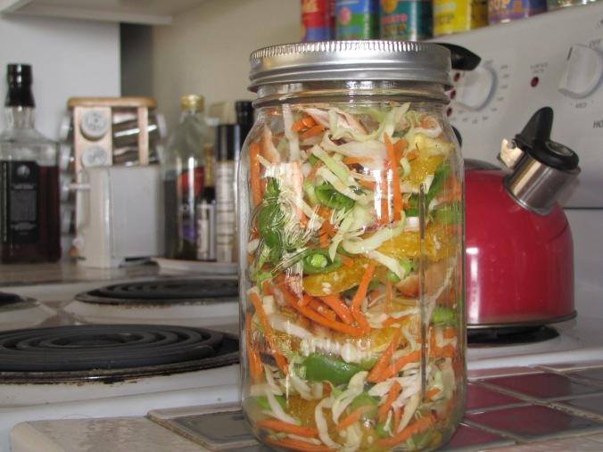 Salad Jar: Chinese Chicken Salad