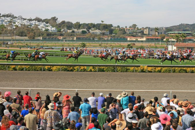 Horseraces Opening Day Del Mar