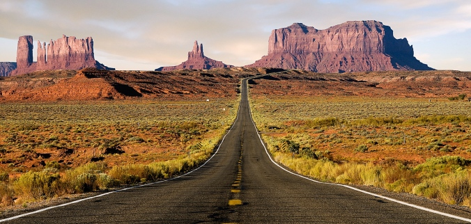 the open roads of Route 66