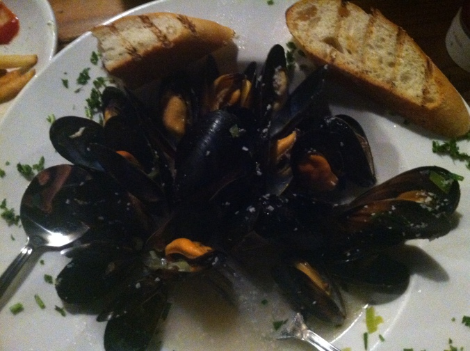 Mussels from Fish 101 - a week day staple