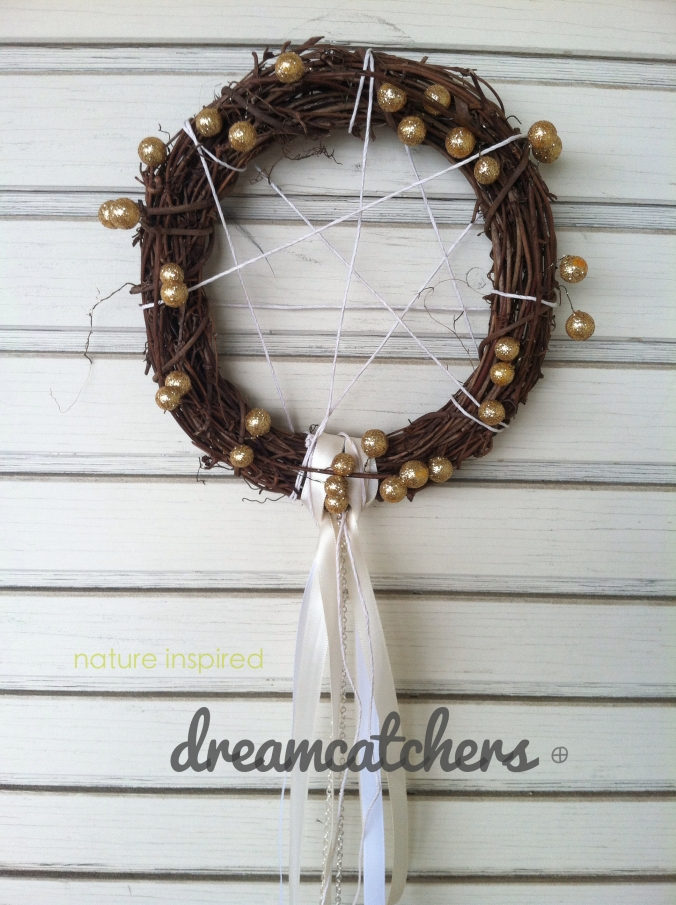 nature inspired dreamcatchers
