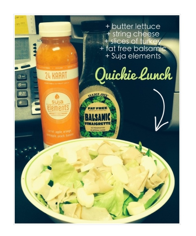 Quickie Lunch