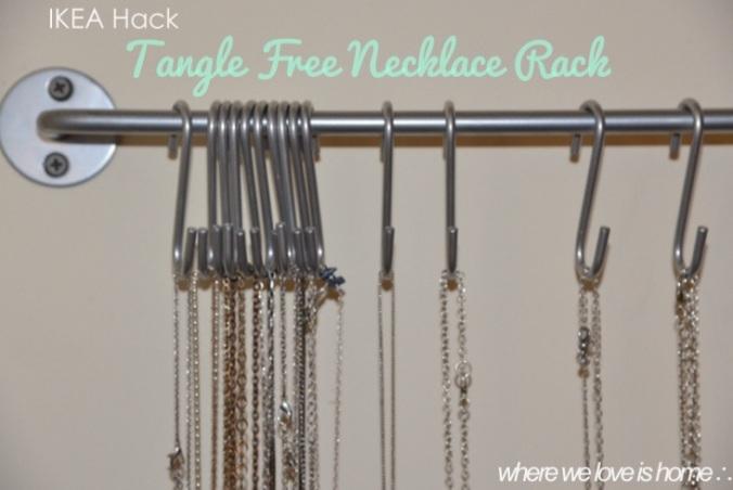 necklace rack hack