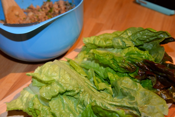 lean turkey lettuce wraps