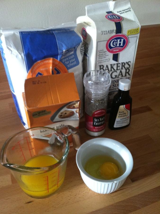 Ingredients - Real Simple Banana Bread