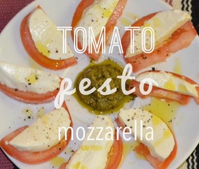 tomato pesto mozzarella