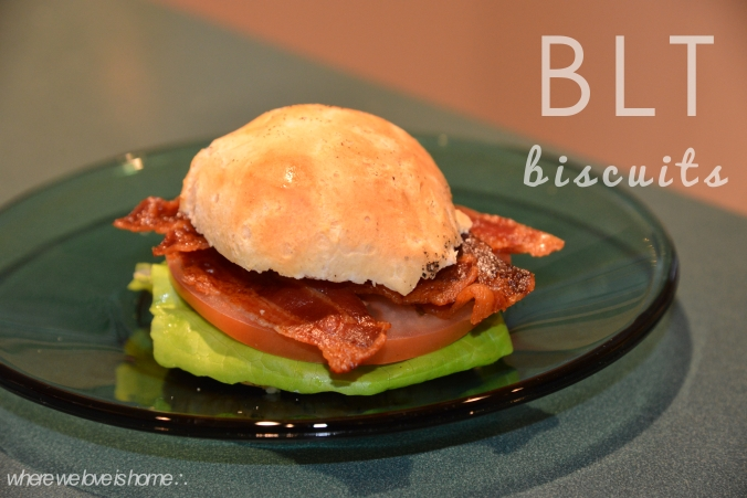 blt biscuits