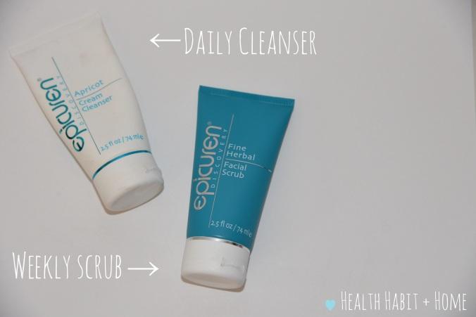 epicuren cleanser and scrub